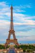 canvas print picture - Eiffelturm