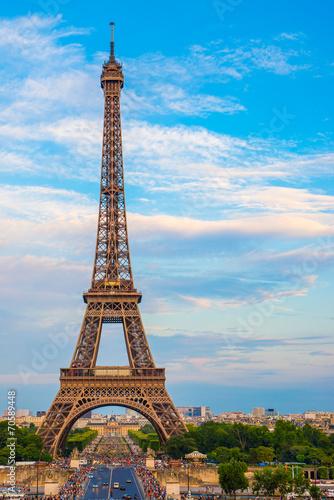 canvas print picture Eiffelturm