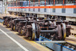 Undercarriages for maintenance of subway wagons - 70589845