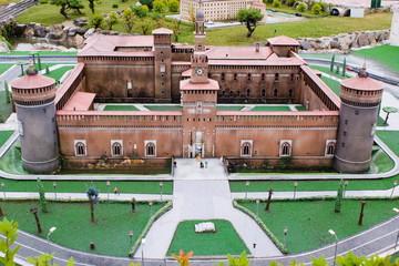 Castello Sforzesco in miniature