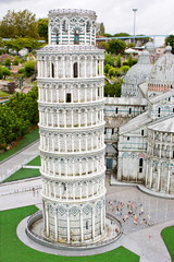 Leaning Tower of Pisa in miniature