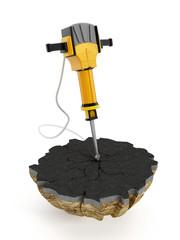 Concrete breaker - Jackhammer