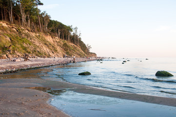 The shore of the Baltic sea