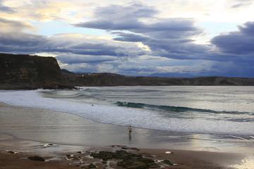 Playa de los Locos, Suances. Cantabria