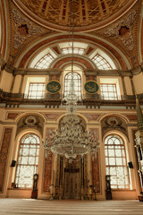 Inside of Dolmabahce Mosque@Istanbul