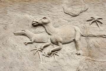Dino relief 3