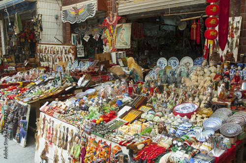 Staande foto Xian Xian Muslim Market