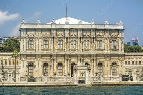 Zdjęcia na płótnie, fototapety, obrazy : Historical Dolmabahce Palace@Istanbul