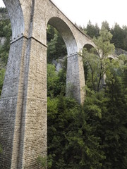 Viaducto en Chamonix