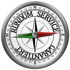 Kompass rundum service garantiert