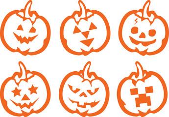 Pumpkin on Halloween