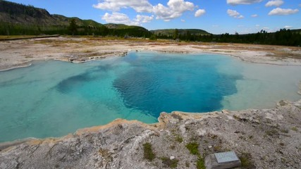 Sapphire Pool Biscuit Basin Yellowstone National Park