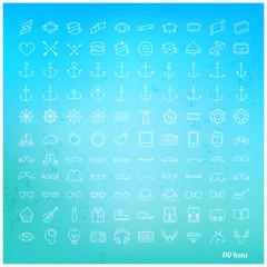 Line icon set