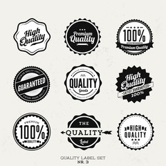premium quality label collection