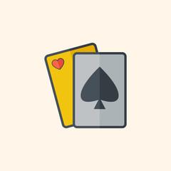 Casino Flat Icon