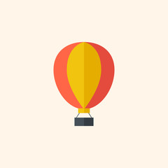 Balloon. Travel Flat Icon