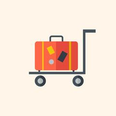 Luggage. Travel Flat Icon