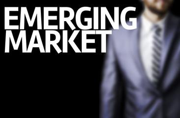Emerging Market written on a board
