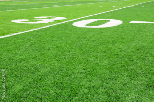 canvas print picture Football field