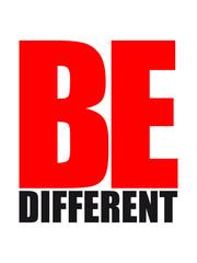 Be Different Logo Design