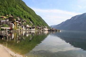 Hallstatter See, beautiful lake of Austria