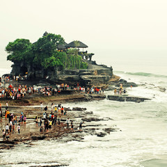Tanah Lot, Bali, Indonesia. instagram effect