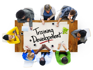 People  with Training Development Concepts