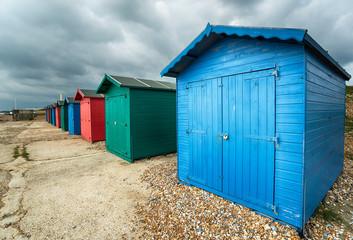 Beach Huts in Hastings