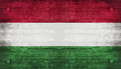 The National Flag of the Hungary