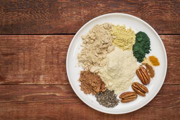 dry superfood smoothie ingredients