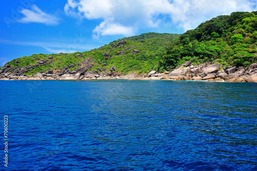 Leinwanddruck Bild Similan Islands