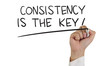 Consistency is The Key