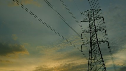 Electric Transmission Tower 1