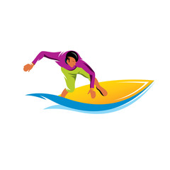 Surfing vector sign
