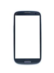 white screen smartphone