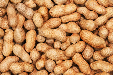 Dry roasted peanuts.