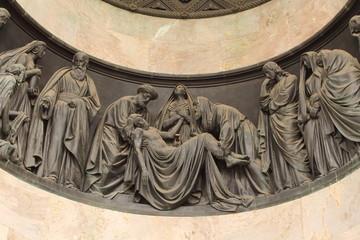 фрагмент скульптуры Иссакиевского собора