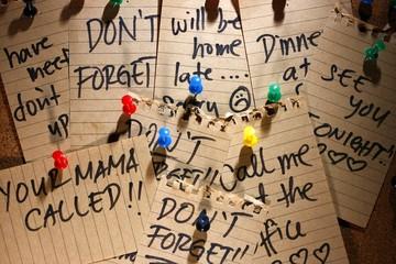 Message or reminder board