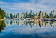 Vancouver skyline with harbor, British Columbia, Canada - 70603079