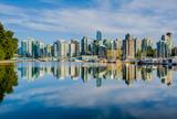 Fototapety Vancouver skyline with harbor, British Columbia, Canada