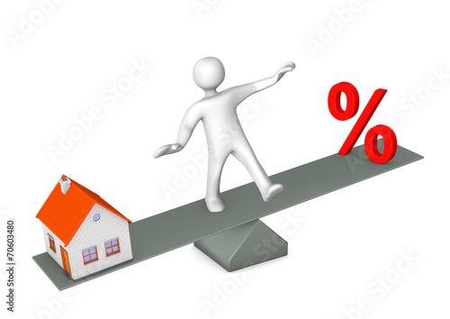 canvas print picture Manikin Balance Discount House