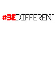 Hashtag Be Different Logo