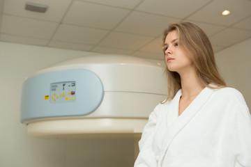 MRI scan.