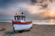 Fishing Boat at Sunrise - 70604478