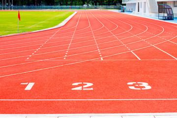 running track start