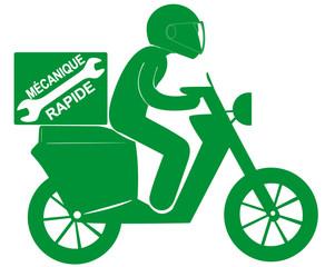 dépannage ultra rapide à scooter