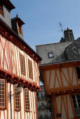 Maison à pans de bois à Vannes