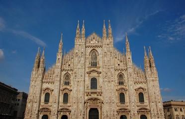 Milano-Duomo, facciata 1