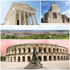 Nimes monuments