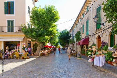 canvas print picture Valldemossa, Mallorca